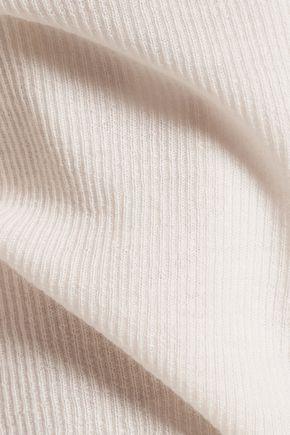 HELMUT LANG Ribbed cashmere cardigan