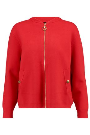 LOVE MOSCHINO Stretch-knit cardigan