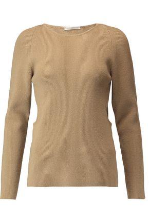 EMILIA WICKSTEAD Cutout wool, silk and cashmere-blend sweater