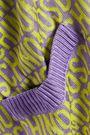 MOSCHINO Jacquard-knit cardigan
