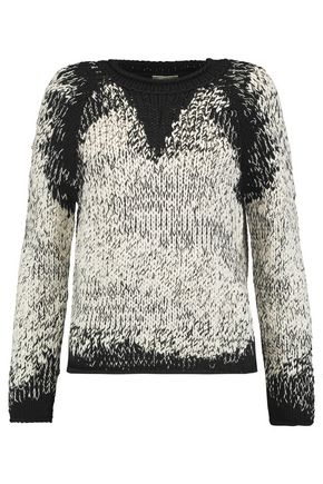 BRUNELLO CUCINELLI Cable-knit cotton, linen and silk-blend sweater