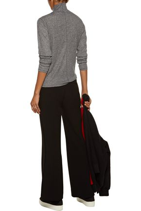 RAG & BONE Striped ribbed-knit turtleneck sweater