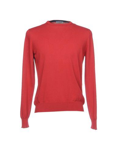 Фото - Мужской свитер VENGERA кирпично-красного цвета