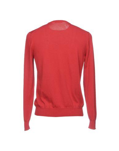 Фото 2 - Мужской свитер VENGERA кирпично-красного цвета