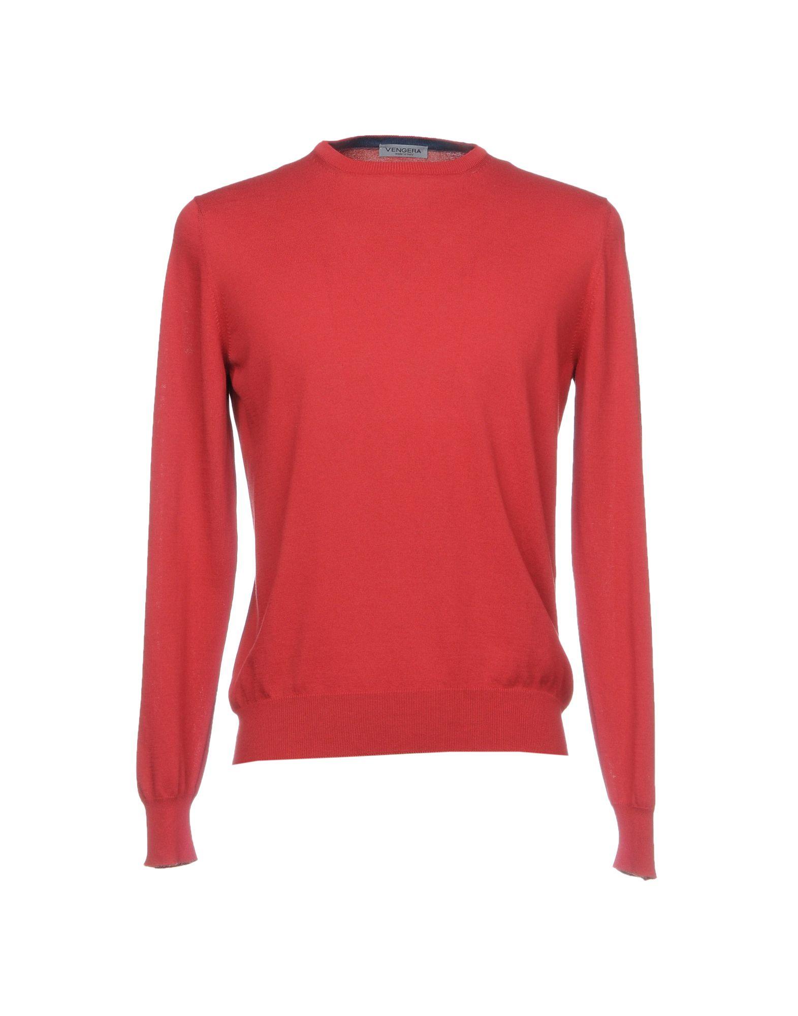 VENGERA Sweater in Brick Red