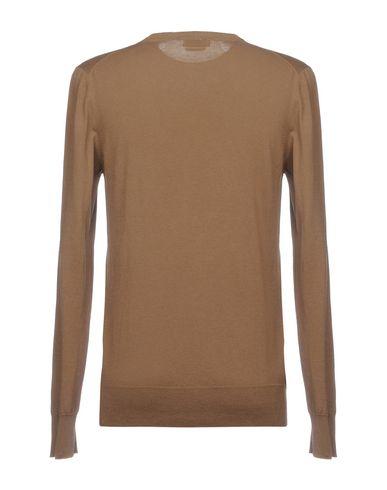 Фото 2 - Мужской свитер  коричневого цвета