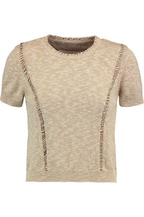 MAISON MARGIELA Stitched cotton sweater
