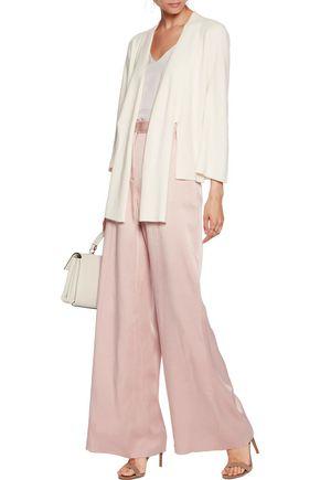 HALSTON HERITAGE Cotton-blend cardigan