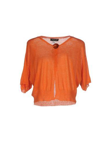 Фото - Женский кардиган  оранжевого цвета