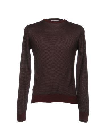 Фото - Мужской свитер INDIVIDUAL красно-коричневого цвета
