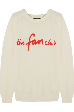 SIBLING The Fan Club merino wool sweater