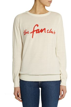 SIBLING The Fan Club merino wool sweater