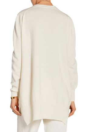 ROSETTA GETTY Wool and cashmere-blend sweater
