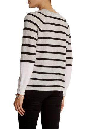 DUFFY Striped cashmere sweater