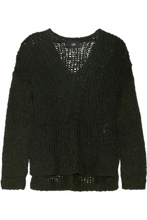 LINE Carlyle open-knit alpaca-blend sweater