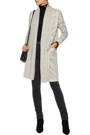 LINE Sienna intarsia-knit cardigan