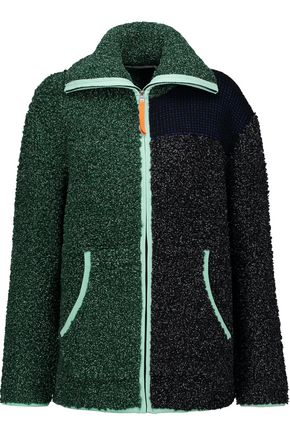 T by ALEXANDER WANG Bouclé-knit jacket