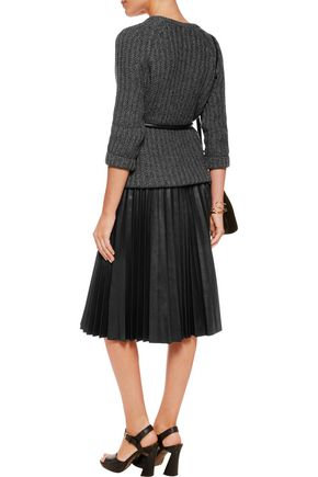 ALICE + OLIVIA Ribbed-knit sweater