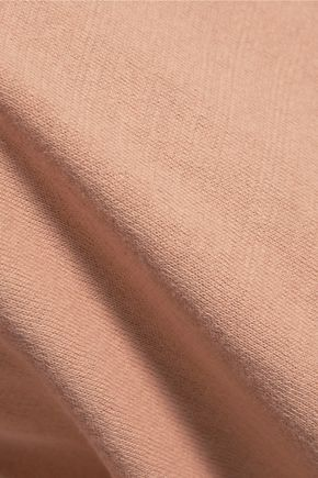 JOIE Jenka lace-paneled silk and cotton top