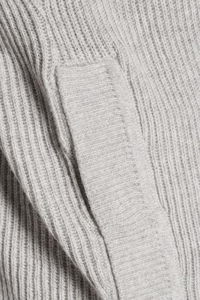EQUIPMENT Rei ribbed cotton and cashmere-blend sweater