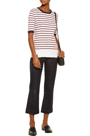 EQUIPMENT Brienne striped cotton and cashmere-blend sweater