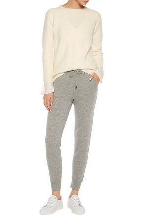 MADELEINE THOMPSON Ribbed-knit wool and cashmere-blend sweater