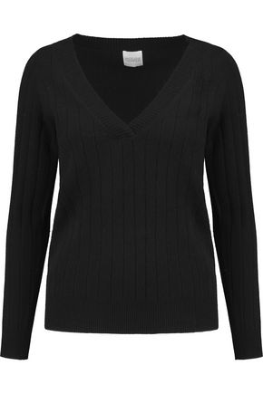 MADELEINE THOMPSON Ribbed cashmere sweater