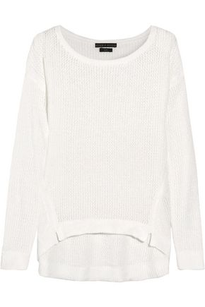 ALICE + OLIVIA Harpo open-knit sweater