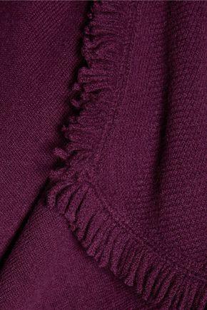 MAGASCHONI Fringed cashmere cardigan