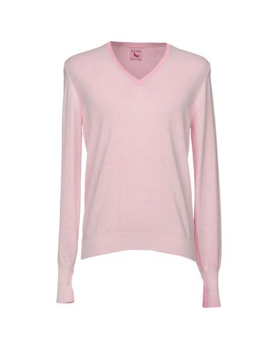 Фото - Мужской свитер GRAN SASSO розового цвета