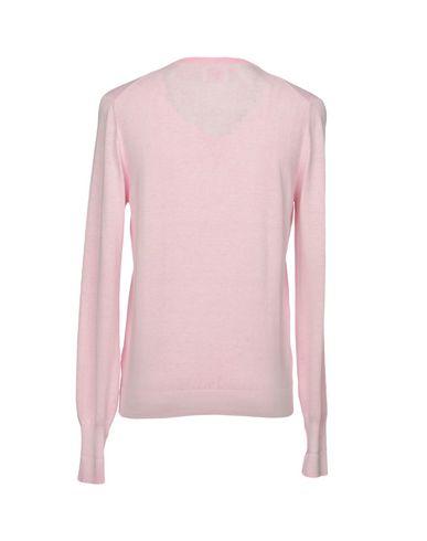 Фото 2 - Мужской свитер GRAN SASSO розового цвета