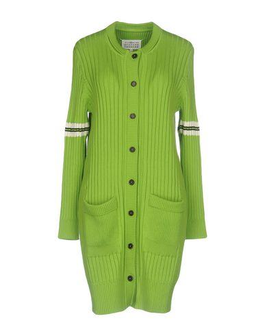 Фото - Женский кардиган  кислотно-зеленого цвета