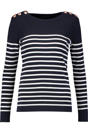 PETIT BATEAU Striped cotton sweater