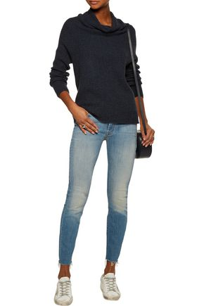 JOIE Abri draped cashmere sweater