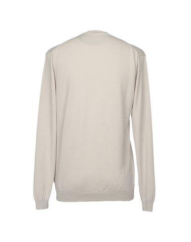 Фото 2 - Мужской свитер BELLWOOD светло-серого цвета