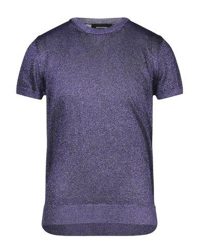 Купить Мужской свитер  фиолетового цвета
