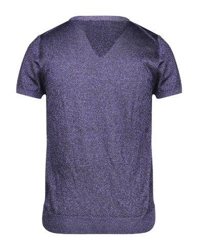 Фото 2 - Мужской свитер  фиолетового цвета