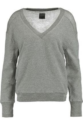 RTA Pascal cotton-blend jersey sweater