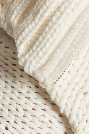 MARQUES ALMEIDA Chunky-knit cotton-blend cardigan
