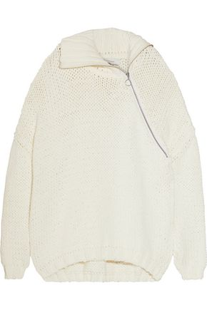 MARQUES ALMEIDA Chunky-knit cotton-blend cardigan