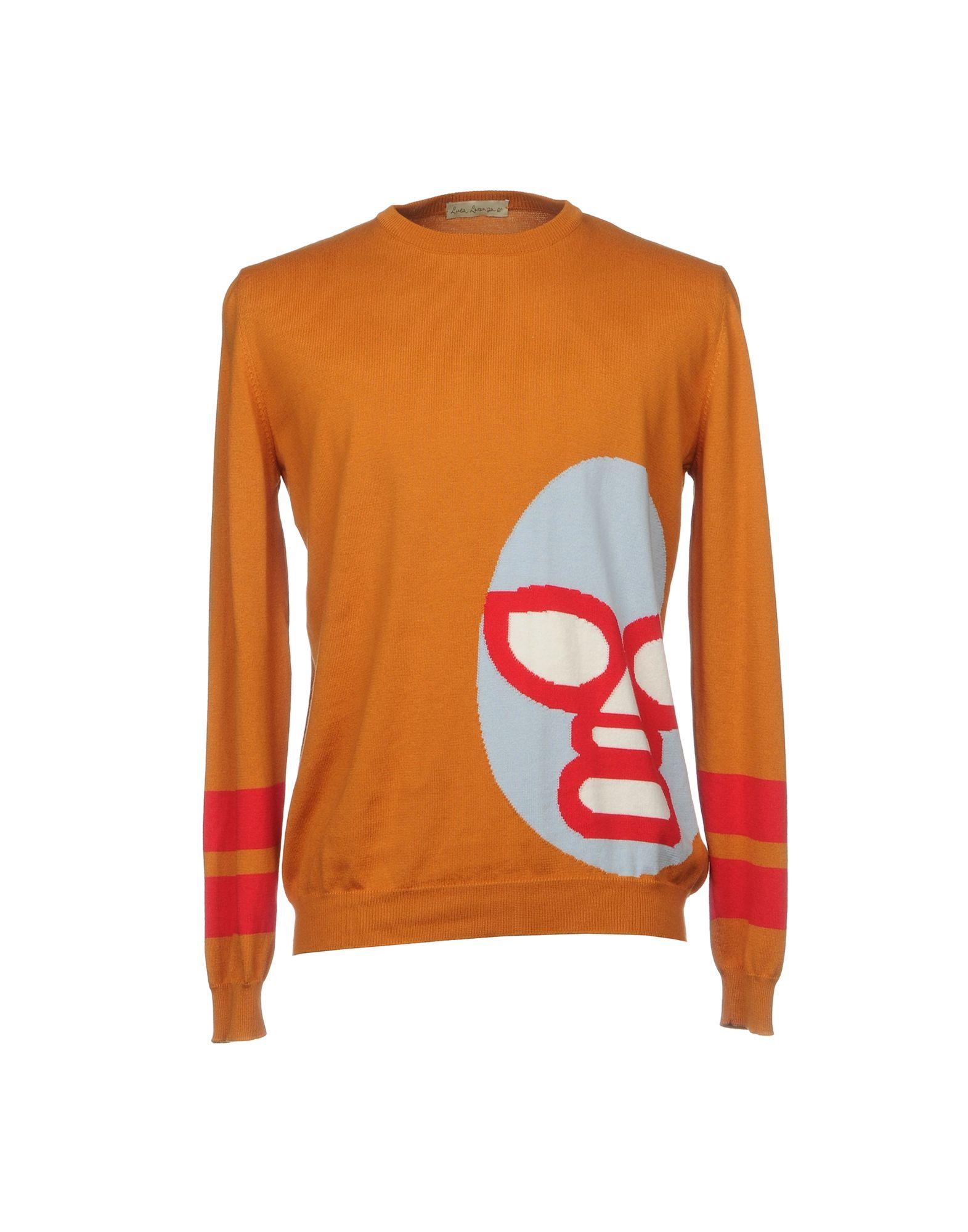LUCA LARENZA Sweater in Orange