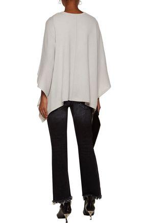 DUFFY Cape-effect cashmere sweater