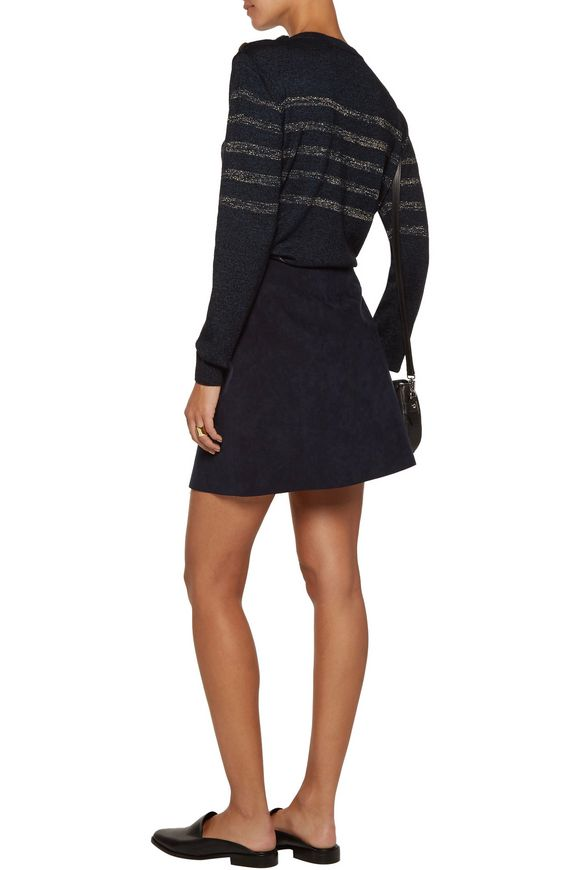 Sophia Breton metallic striped cotton-blend sweater | M.I.H JEANS | Sale up  to 70% off | THE OUTNET