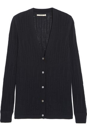 J BRAND Westmore open-knit cotton cardigan