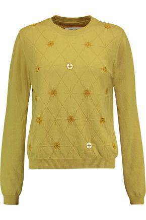 MAISON MARGIELA Button-embellished cashmere sweater