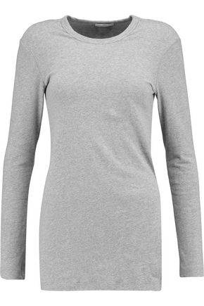 JAMES PERSE Brushed cotton-blend sweater