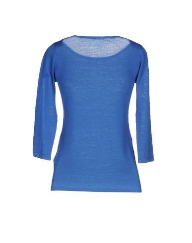 Фото 2 - Женский свитер SOTTOMETTIMI синего цвета