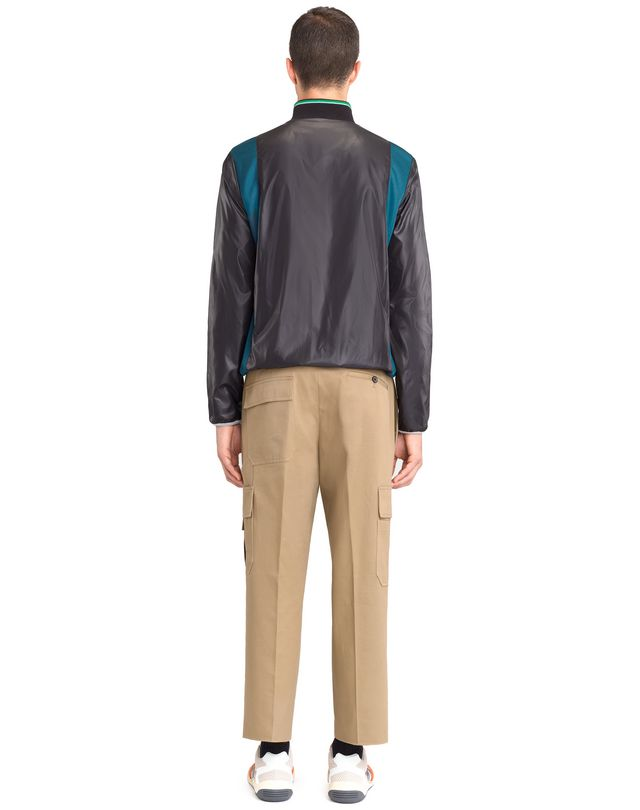 LANVIN MIXED-MATERIAL JACKET Knitwear & Sweaters U d