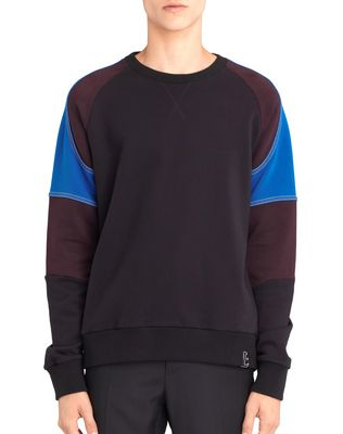 LANVIN COLOR-BLOCK SWEATSHIRT Knitwear & Sweaters U f