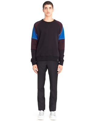 LANVIN COLOR-BLOCK SWEATSHIRT Knitwear & Sweaters U r